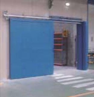 Industrial corredera cortafuegos EI2-60, EI2-90, EI2-120
