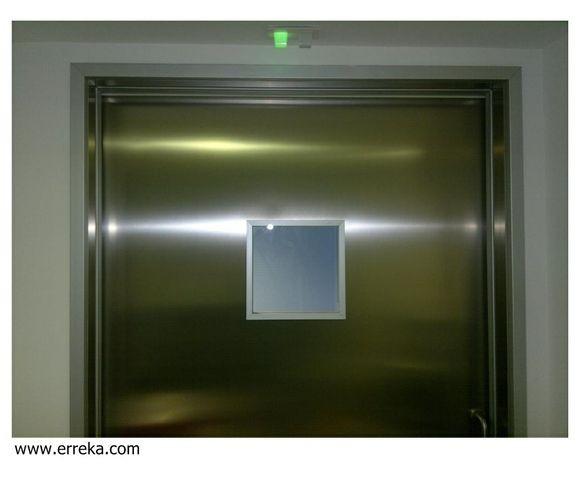 Puerta de cristal Klinic (Sanidad)