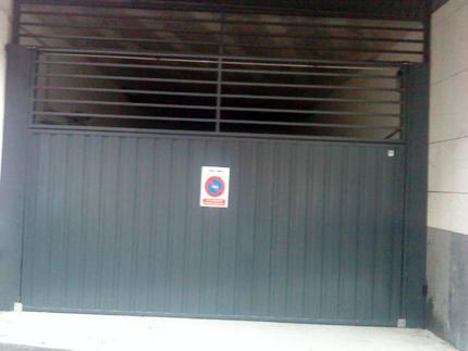 Puerta doméstica Basculante de contrapeso