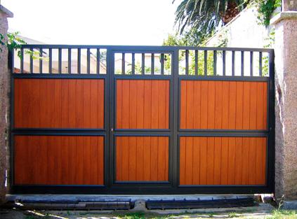 Puerta doméstica corredera